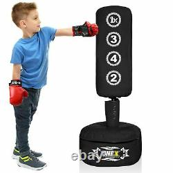 Free Standing Boxing Punch bag Heavy Duty Bag MMA Pro Martial Arts Training Set