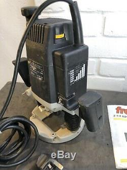 Freud FT2000e Professional 1/2 ROUTER 1900w 230v in good condition heavy duty