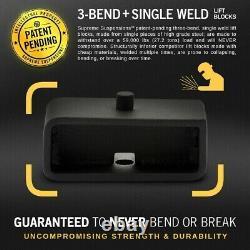 Full 3.5+ 2 Lift Kit + Diff Drop For 07-18 Chevy GMC Silverado Sierra 1500 4WD