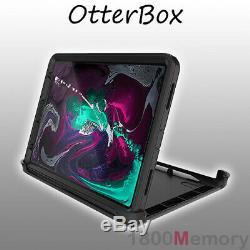 GENUINE OtterBox Defender Case for Apple iPad Pro 11 1st Gen 2018 Black Rugged