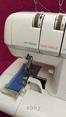 GLOBAL Heavy Duty 4 thread Overlocker Sewing Machine, Semi Professional model NEW