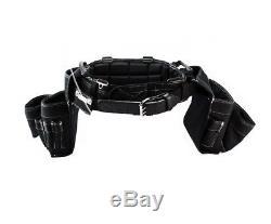 Gatorback Heavy Duty Professional Carpenter's Suspenders & Tool Belt Built Tough