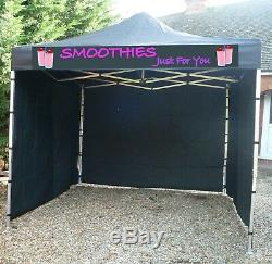 Gazebo Catering Trailer Fast Food Heavy Duty Pro 40 + Signage £50 Off 1 Left