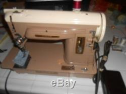 Gorgeous Singer 404- Heavy Duty Sewing Machine Professionally Serviced