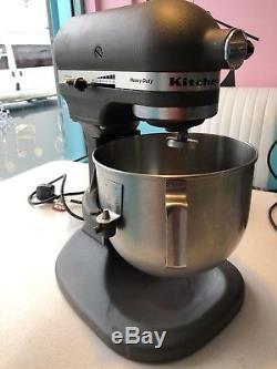 Grey Professional Kitchenaid Heavy Duty Mixer 5kpm50