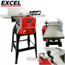 Heavy Duty 10 Planer Thicknesser 1500W with Legstand Professional Woodwork 240V