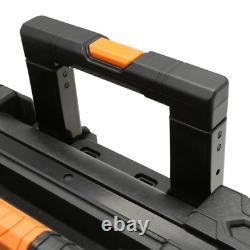 Heavy Duty 22 in. Professional Lockable Gear Cart Tool Box All Terrain Wheels