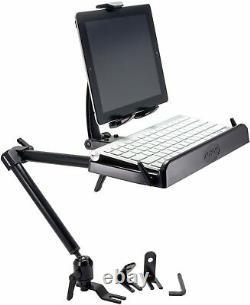Heavy Duty Combo Car Mount Tablet and Keyboard Tray, iPad pro 12.9 Galaxy Note
