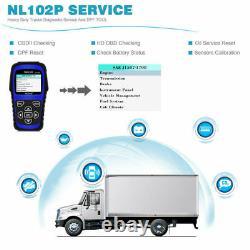 Heavy Duty Diesel DPF Regen Diagnostic Scanner For CUMMINS DETROIT HINO Trucks