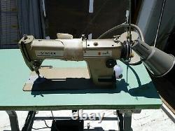 Heavy Duty High Speed Industrial Singer Professional Sewing Machine 191D300A