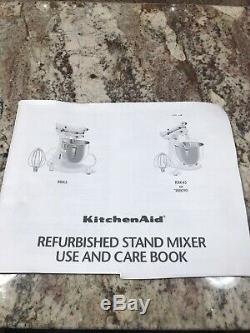 Heavy Duty Mixer Stand Professional 5 KitchenAid White 5 Qt. 10 Speed