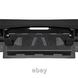 Heavy Duty Off-Road Utility Winch Bumper with Bull Bar For 2009-2014 Ford F-150