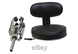 Heavy Duty Professional 9000 Series Pneumatic Air Lift Drum Throne with Back Rest