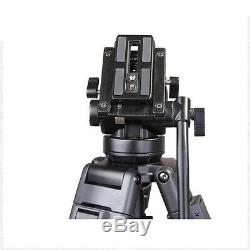 Heavy Duty Professional Panoramic Fluid Damping Video Camera Tripod Kit VT-2500