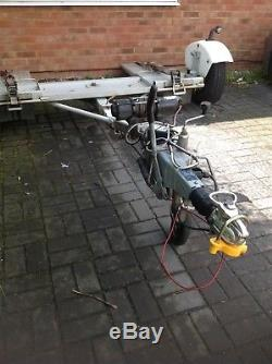 Heavy Duty Recovery Trailer (Dolly) This is a professional piece of equipment