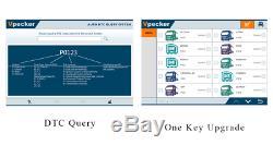Heavy Duty Truck Scanner Programming Coding Diagnostic Tool Kit + 8'' Win10 Pad