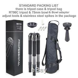 INNOREL Carbon fiber photography bracket professional heavy duty camera tripod