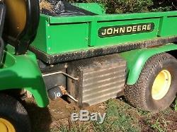 John Deere Pro Gator 2020 Gas Heavy Duty UTV 825 Hours Hydraulic Dump Bed Aux