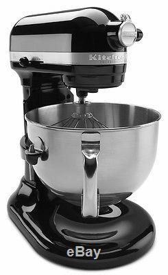KitchenAid Pro 600 RKP26M1Xob Stand Mixer 10-speed BLACK Professional heavy duty
