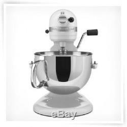 KitchenAid Pro 600 Rksm6573wh Stand Mixer 10-speed White Professional heavy duty