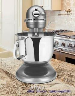 KitchenAid Pro 600 Stand Mixer 6 Quart Professional Heavy Duty KSM6573 Silver