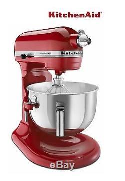 KitchenAid RKGH0XER Professional Heavy Duty Stand Mixer 450W 5-Quart Empire Red