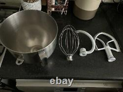 Kitchenaid Heavy Duty 5 Qt Bowl Lift Mixer And Attachments