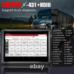 LAUNCH X431 HD III V+ Pro 3S 24V Heavy Duty Truck All System Diagnostic Module