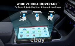 LAUNCH X431 V+ HD3 24V Heavy Duty Bidirectional ECU Coding Obd2 Scanner Tablet