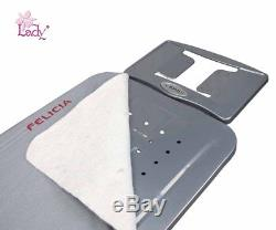Lady Felicia Professional Heavy Duty Wide Ironing Board with Heat Resistant