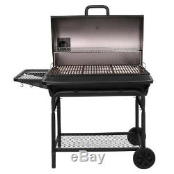 Large Grill Outdoor BBQ Grills Charcoal Professional XL Backyard Cooker Smoker