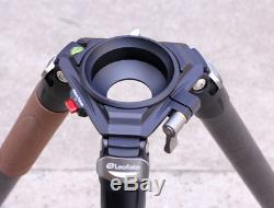 Leofoto LN-404C Professional Carbon Fiber Tripod Heavy Duty Tripod 100mm Bowl