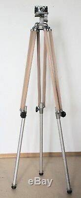 Linhof Heavy Duty Rohr Professional Stativ Mod. 3 mit Neigekopf
