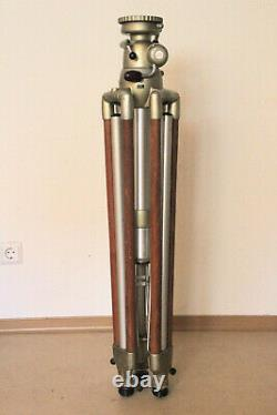 Linhof Professional Holz Stativ Heavy Duty Pro S420H 003323 große Kurbelsäule