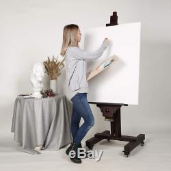 MEEDEN Extra Large Studio Easel, Professional Artist Easel, Heavy Duty Floor Eas