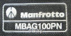 Manfrotto 346B Professional Heavy-Duty Aluminum Tripod with 504HD Fluid Head + Bag