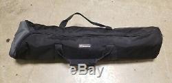 Manfrotto 351MVB2 Professional Heavy-Duty Aluminum Tripod & 501 Head & Bag