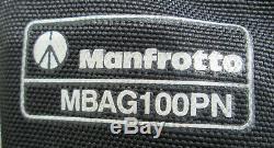 Manfrotto 547B Professional Heavy-Duty Aluminum Tripod + 501HDV Head + Bag