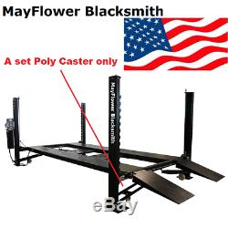 Mayflower Blacksmith Four Post Lift Car lift Poly Caster only