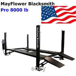 Mayflower Blacksmith Heavy Duty Four Post Lift Car lift Storage Service Pro 8000