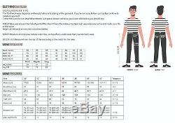 Men Work Cargo Trouser Black Pro Heavy Duty Multi Pockets W36 L33