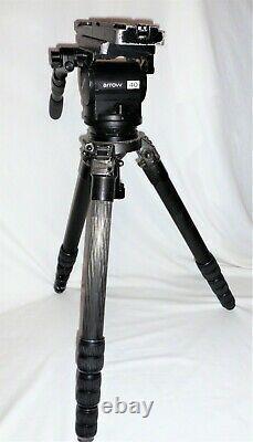 Miller Arrow 40 Fluid Head & Gitzo Pro Tripod System Exc+ Used Heavy Duty