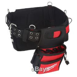 Milwaukee Electricians Work Tool Belt Pockets Heavy Duty Professional Pouch New