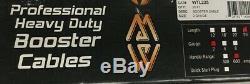 Mize WTL225 Professional EXTRA Heavy Duty 2 GA 20 Jumper Booster Cables 600 Amp