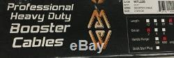 Mize WTL225 Professional EXTRA Heavy Duty 2 GA 25' Jumper Booster Cables 600 Amp