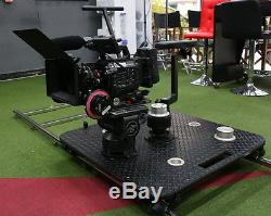 Multi-functional Heavy Duty Seated Dolly for Professional Film Video Production