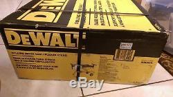 NEW DEWALT DWX726 Rolling Miter Saw Stand Heavy Duty Adjustable Professional
