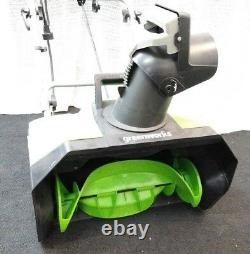 NEW Green Works Pro Electric Snow Blower 120Volt 20 13AMP 2600202