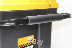NEW Tough Heavy Duty Professional Rolling Tool Storage Box Chest Tote On Wheels