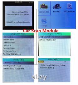 NEXAS NL102P Heavy Duty Truck Diagnostic Scanner Code Reader DPF Regen Oil Reset